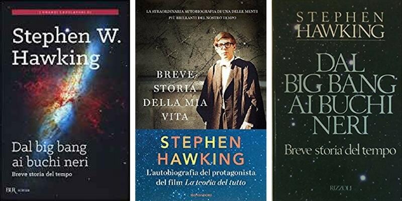 I cinque libri da leggere di Stephen Hawking