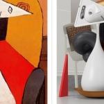 Le opere di Pablo Picasso nelle sculture 3D di Omar Aqil
