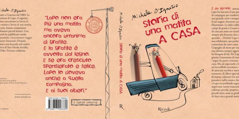 """Un nuovo capitolo del libro per ragazzi """"Storia di una matita"""""""