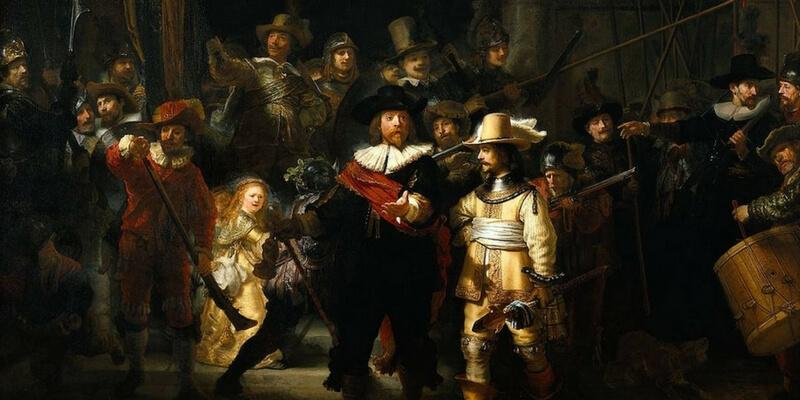 In Olanda un flashmob con protagonista il quadro di Rembrandt