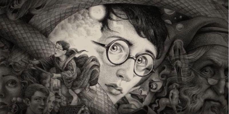 Le nuove copertine della saga di Harry Potter illustrate da Brian Selznick