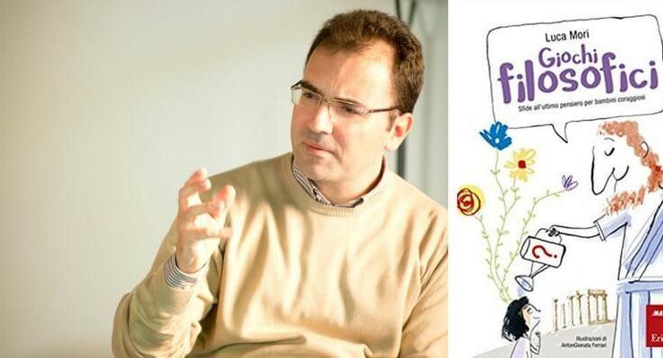 "Luca Mori, ""Un libro per aiutare i bambini a pensare e conoscere"""
