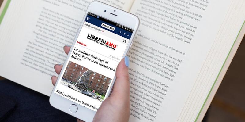 Aggiornata per iOS11 l'app di Libreriamo pensata per gli amanti dei libri e della cultura