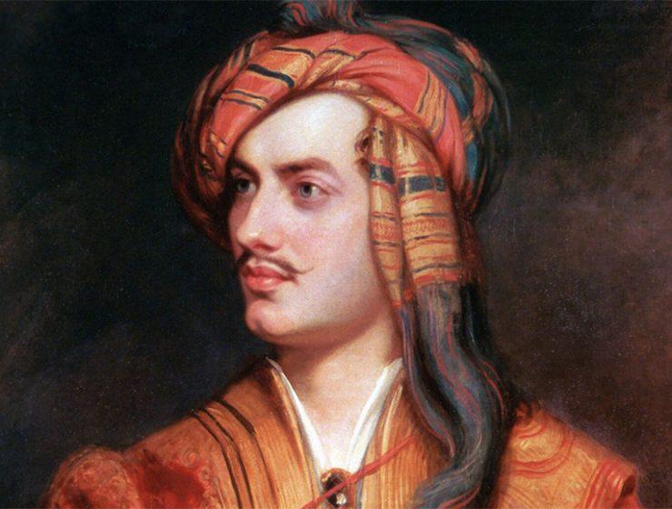 La lettera d'amore di Lord Byron a Teresa Guiccioli