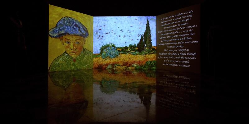 Venezia presenta la mostra multimediale tra le opere di Van Gogh