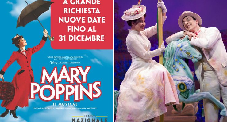 Mary Poppins Il Musical ritorna in autunno a teatro