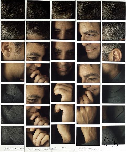 Maurizio Galimberti - George Clooney, 2003 (1)