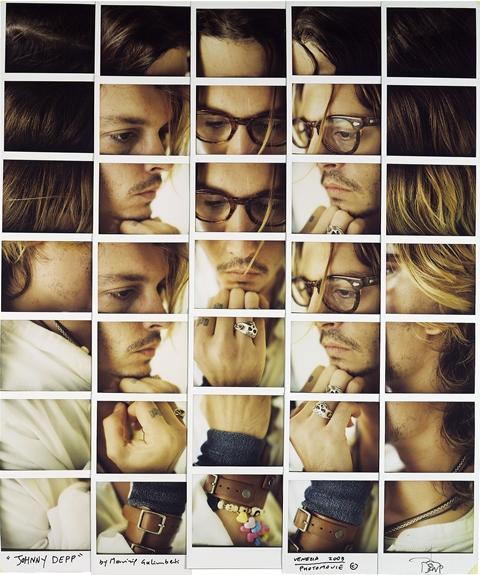 Maurizio Galimberti - Johnny Depp, 2003 (1)