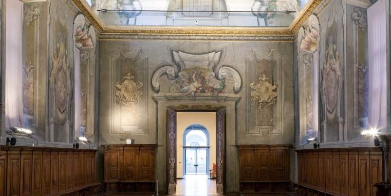 Sala Cenacolo Pietro Gilardi Museo scienza e tecnologia Milano