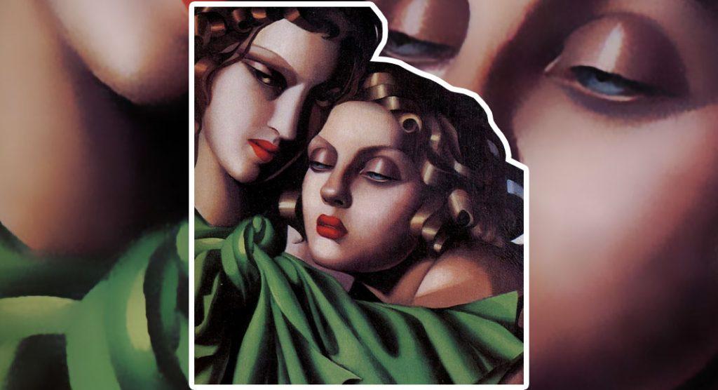 "Tamara de Lempicka, ""la baronessa col pennello"""