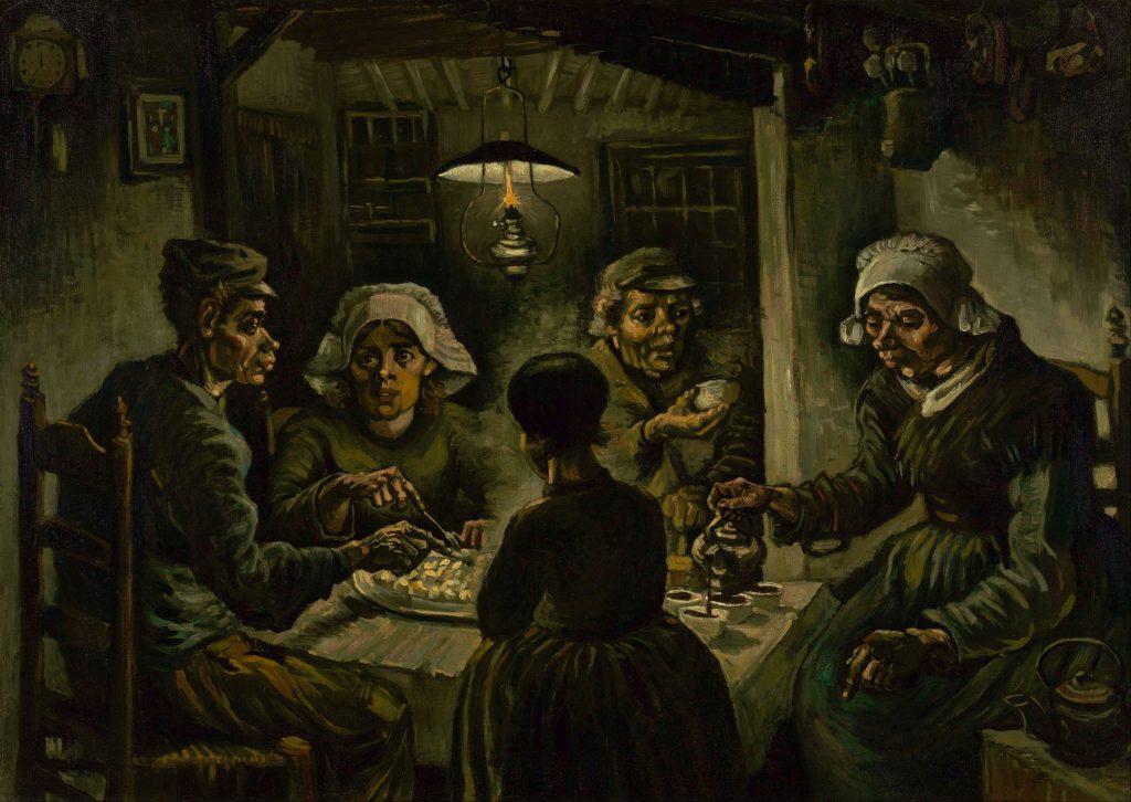 Vincent van Gogh The potato eaters Google Art Project 5776925