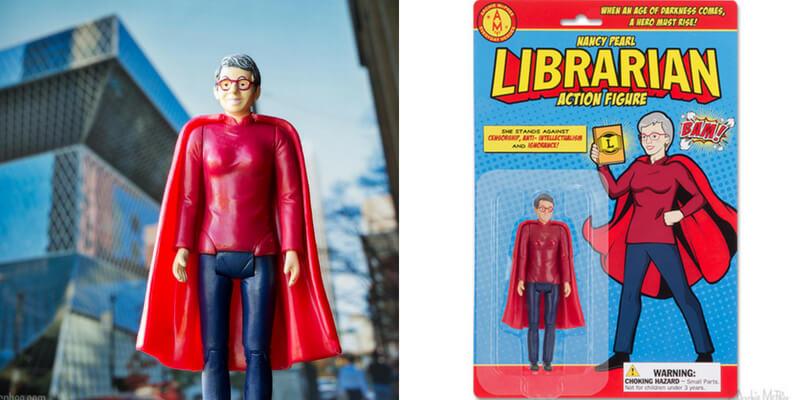 Arriva l'action figure dedicata ai bibliotecari, eroi contro l'ignoranza