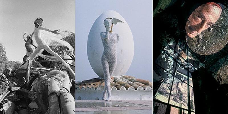 Foto inedite di Dalí all'opera in mostra alla Fondazione Sozzani