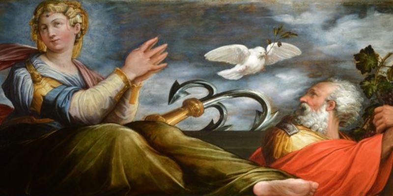 """""""L'Allegoria della Speranza"""" di Giorgio Vasari per la prima volta aperta al pubblico"""