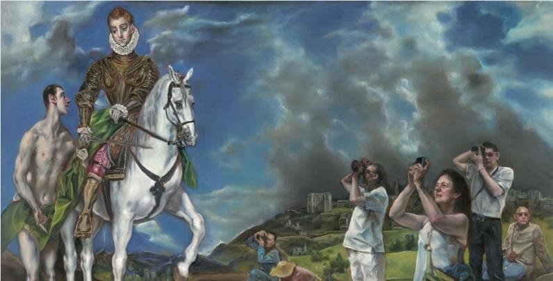 I quadri classici reinterpretati da Pang Maokun in mostra a Firenze