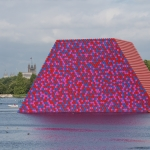 The London Mastaba - The London Mastaba, Serpentine Lake, Hyde Park, 2016-18