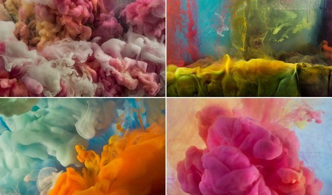Le spettacolari foto di Kim Keever, l'artista che dipinge nell'acqua