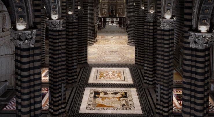 Grande attesa per la riapertura del pavimento del Duomo di Siena