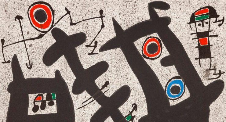 Il meraviglioso mondo di Miró in mostra a Castiglione
