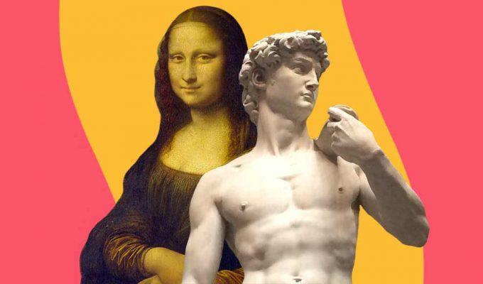 Le 10 opere d'arte italiane più famose al mondo