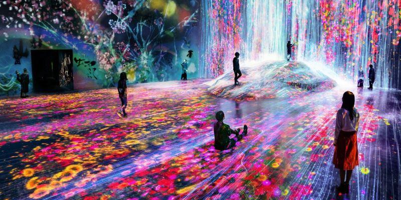 tokyo museo arte digitale