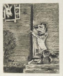 Il lupo, la capra e il capretto - Marc Chagall