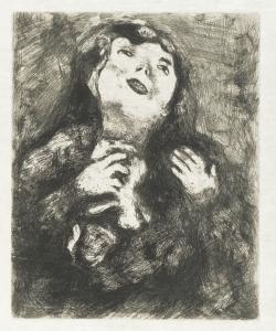 La vedovella - Marc Chagall