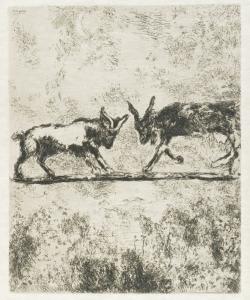 Le due capre - Marc Chagall