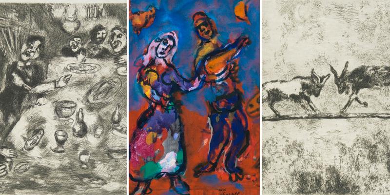 Le favole di Marc Chagall in mostra a Recanati