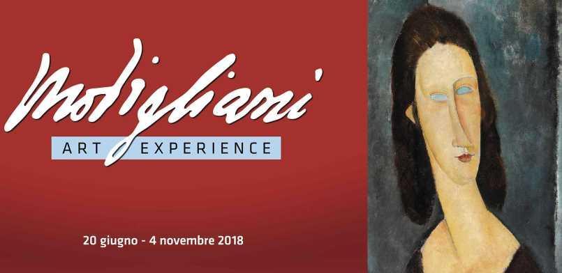 Modigliani Art Experience, Milano incontra l'arte virtuale