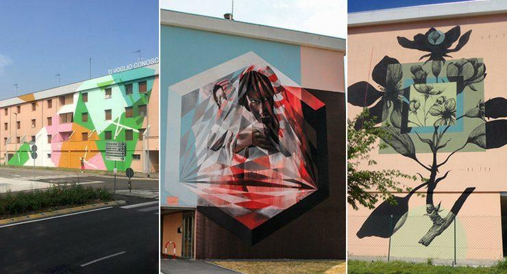 Street artists da tutto il mondo colorano Mantova