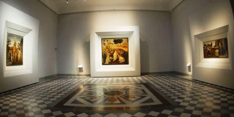 Allestita agli Uffizi la nuova sala dedicata a Leonardo Da Vinci