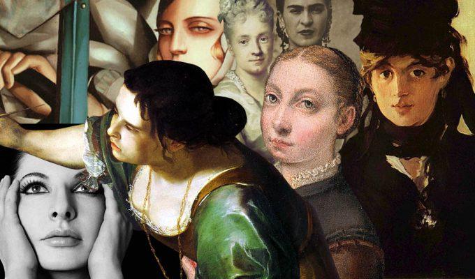 Le 20 donne che hanno cambiato la storia dell'arte