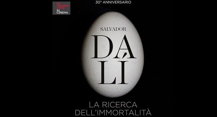 Arriva al cinema per la prima volta Salvador Dalì