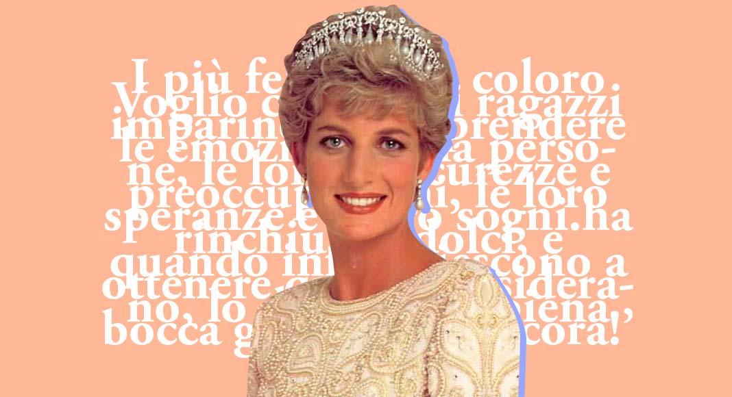 Le frasi più belle di Lady Diana