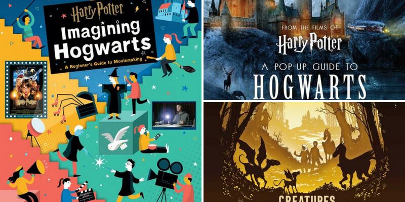 Arrivano in libreria tre nuovi libri di Harry Potter