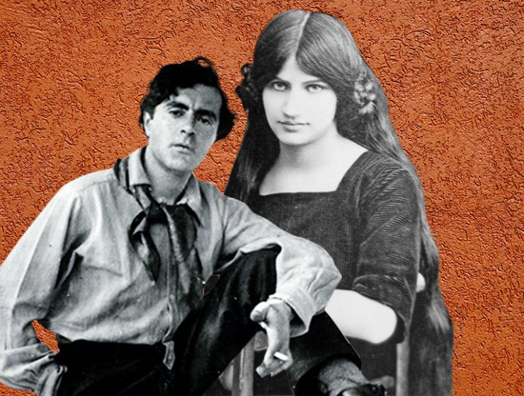 Amedeo Modigliani e Jeanne Hébuterne, i colori della passione
