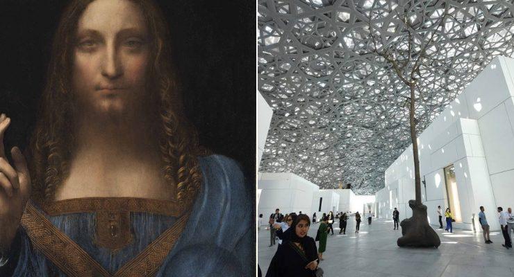 Abu Dhabi rimanda esposizione Salvator Mundi Leonardo