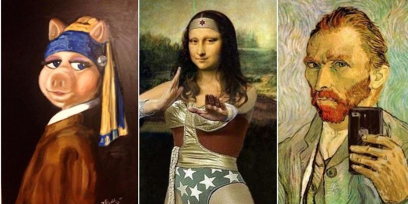 arte diventa virale
