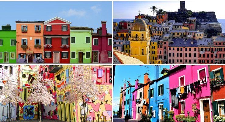 Le strade artistiche più colorate d'Europa