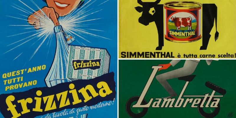Il boom economico del dopoguerra in mostra attraverso la creatività pubblicitaria