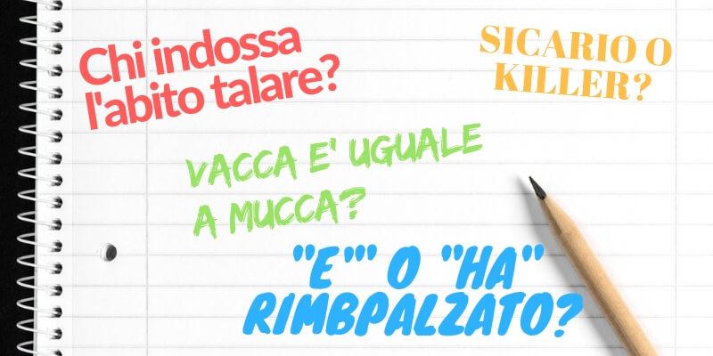 """Meglio """"sicario"""" o """"killer""""? Ecco alcune curiosità ideomatiche della lingua italiana"""