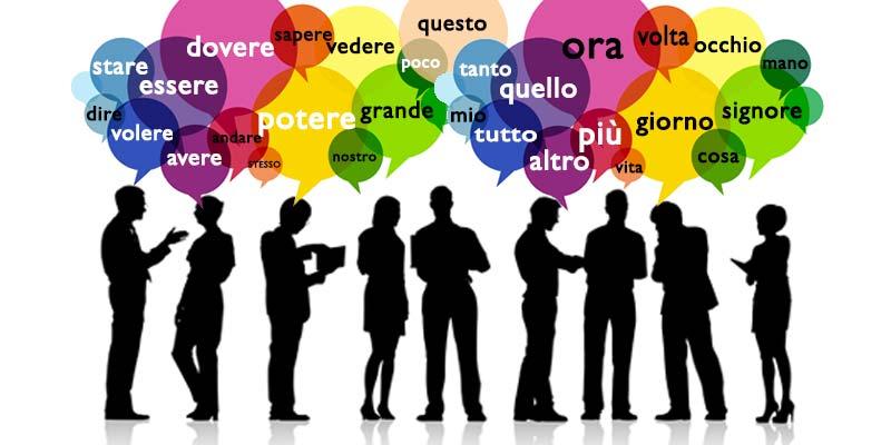 """Da """"cosa"""" a """"tutto"""", le 50 parole più utilizzate della lingua italiana"""