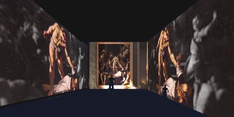 Il mondo di Caravaggio in una mostra multimediale a Milano