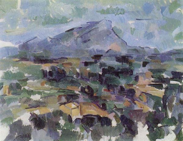 Cezanne Montagna saint victoire