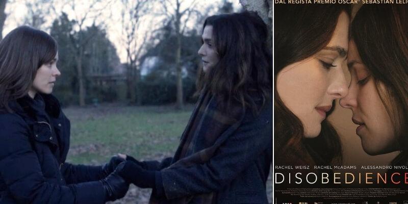 """Al cinema """"Disobedience"""", il film tratto dal bestseller di Naomi Alderman"""