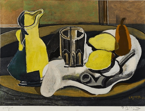 Nature morte aux citrons (1960) cm 47x57