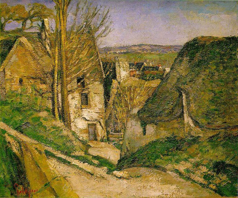 Paul Cezanne casa impiccato