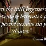 Gianni Rodari, le frasi e gli aforismi celebri