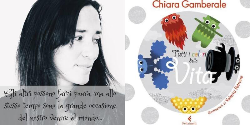 """Chiara Gamberale, """"Grazie al colore degli altri mettiamo meglio a fuoco il nostro"""""""